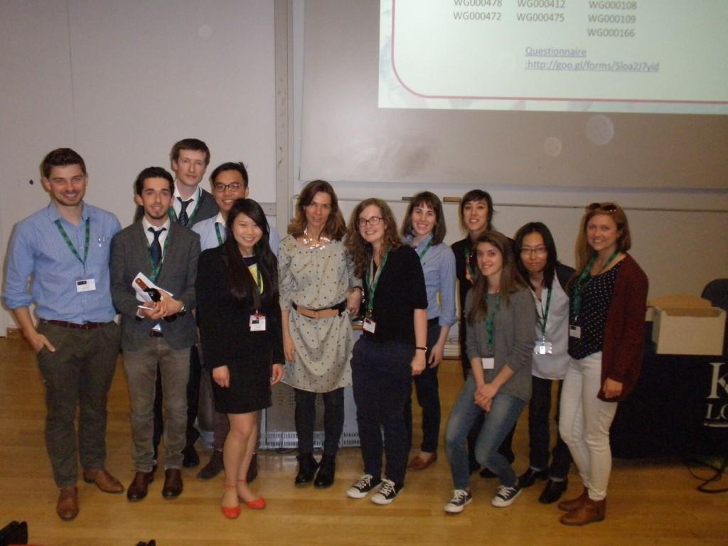Committee with Professor Magdalena Zernicka-Goetz